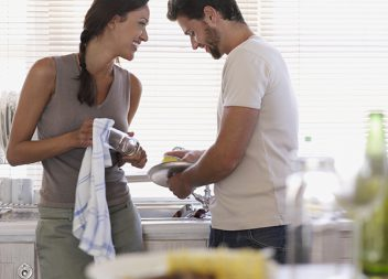Couples who share housework have the most sex and best sex lives