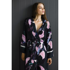 Dark Guava Robe