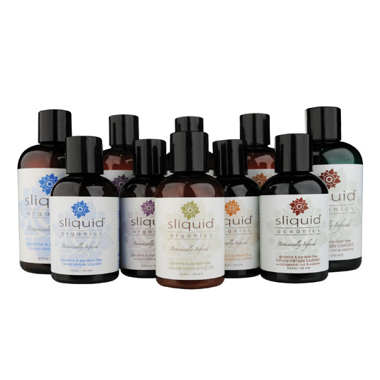 Sliquid Organics Natural Lubricant- 4.2oz bottle