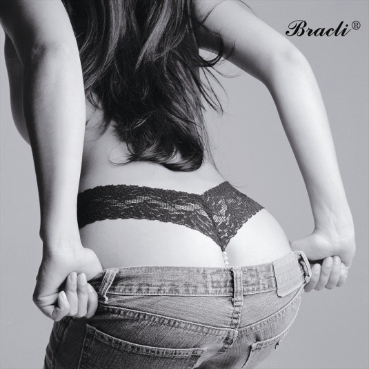 Bracli Classic Pearl Thong- Single Strand
