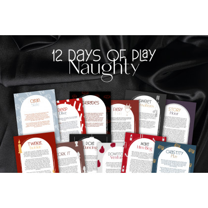 12 Days of Play- Naughty
