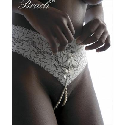 Bracli Classic Pearl Thong- Double Strand